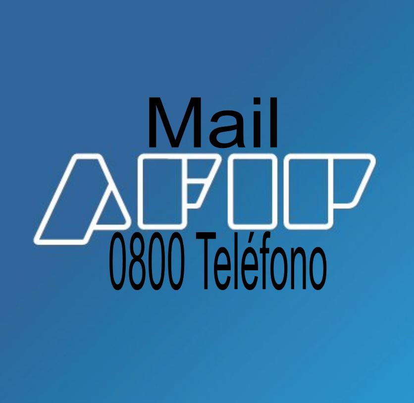 0800 de AFIP Teléfono y MAIL