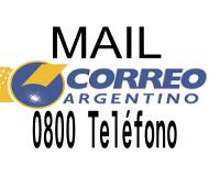 TELEFONOS 0800 MAIL CORREO ARGENTINO