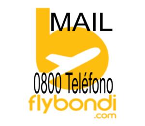 Teléfono 0800 y mail de Fly Bondi