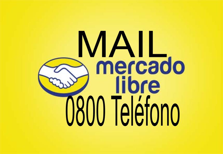 0800 Teléfono de Mercado libre