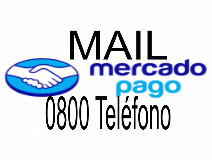 Teléfono 0800 y Mail Mercado PAGO