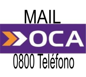 OCA 0800 TELEFONO MAIL