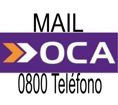[ OCA CORREO | 0800 | MAIL | POSTAL ]