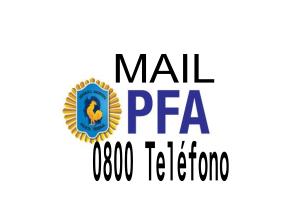 Teléfono 0800 y Mail