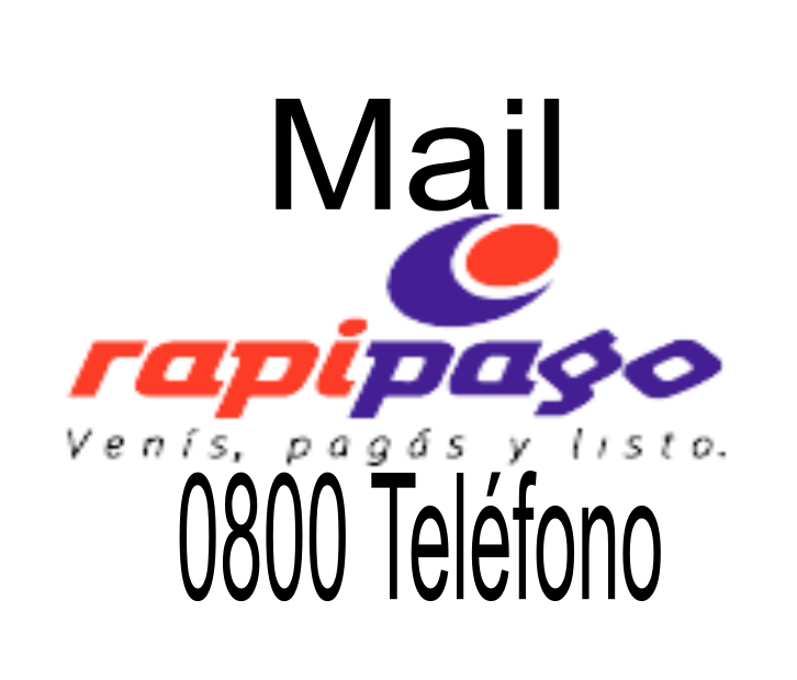 [ RAPIPAGO | 0800 | MAIL ]