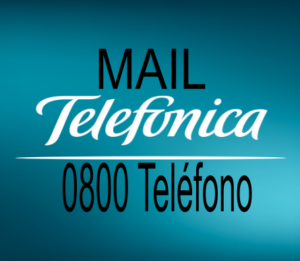 Contacto 0800 y Mail Telefonica