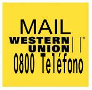 Teléfonos 0800   MAIL   Western Union