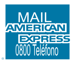 0800 America Express y Mail
