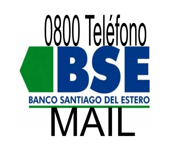 [ BANCO SANTIAGO del ESTERO | 0800 | MAIL ]