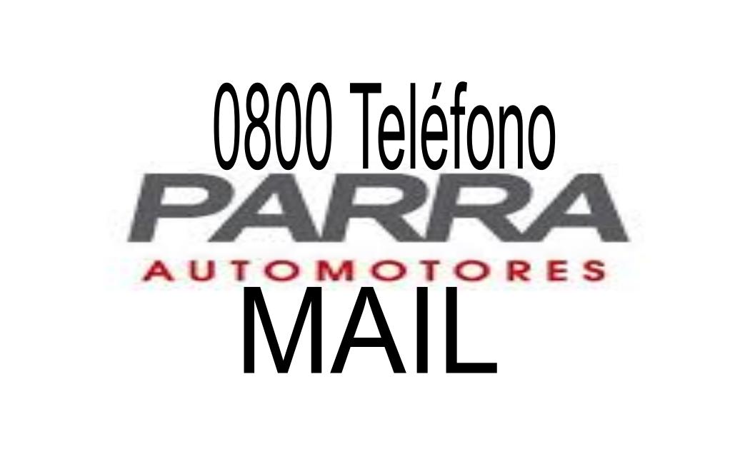 [ PARRA AUTOMOTORES | 0800 | MAIL ]