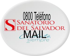 Teléfono 0800 Mail Sanatorio San Salvador Turnos online