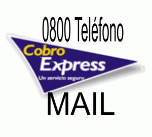 cobro express 0800 mail contacto telefono sucursales impuestos servicios