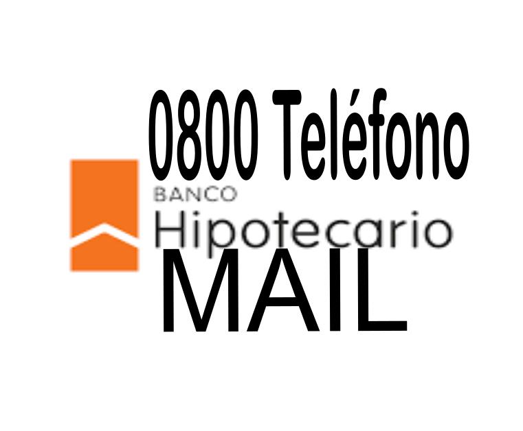 [ Banco Hipotecario | 0800 | MAIL | ]