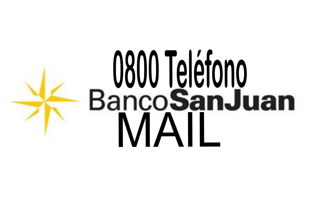 [ Banco SAN JUAN | 0800 | MAIL | ]