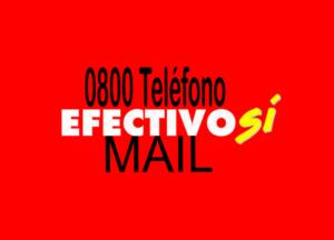efectivo si 0800 mail contacto asignacion universal auh telefono prestamos veraz saldo cobranzas creditos deuda dar de baja cuit bloqueo de tarjeta