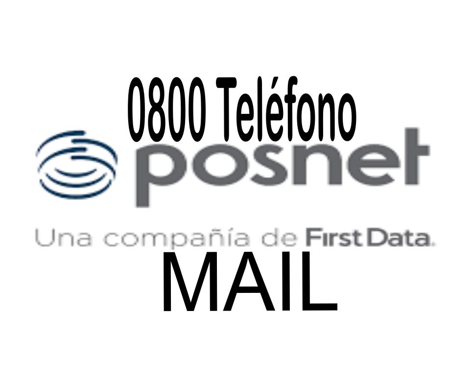 [ POSNET FIRST DATA | 0800 | MAIL | ]